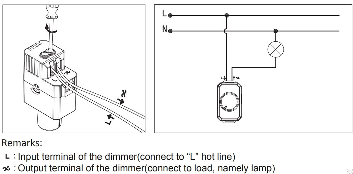 Dimmer MS-BR020